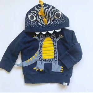3/$20 Baby gap dinosaur hoodie
